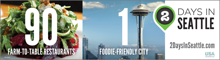 90 Farm-to-table restaurants 1 foodie city 2 days in Seattle